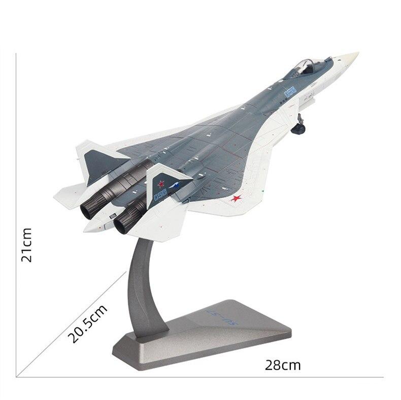 Фигурка Истребитель Россия Су-57 Подставка - h169efdd0e22b4f50bdc9fff49e38bde8b