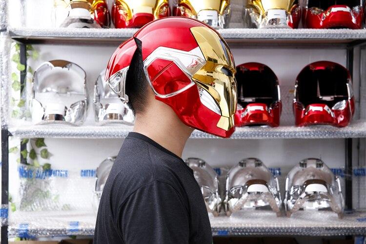 Шлем Маска Железный Человек МК85 Светодиодный - h16d9d17a7f454b608113c30b8ae256926
