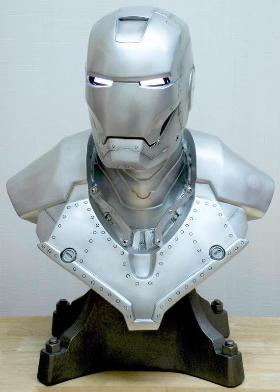 Бюст Железный Человек МК3 Светящиеся Глаза - h175c0b3eaf8f4ee8a096e74e35459d418