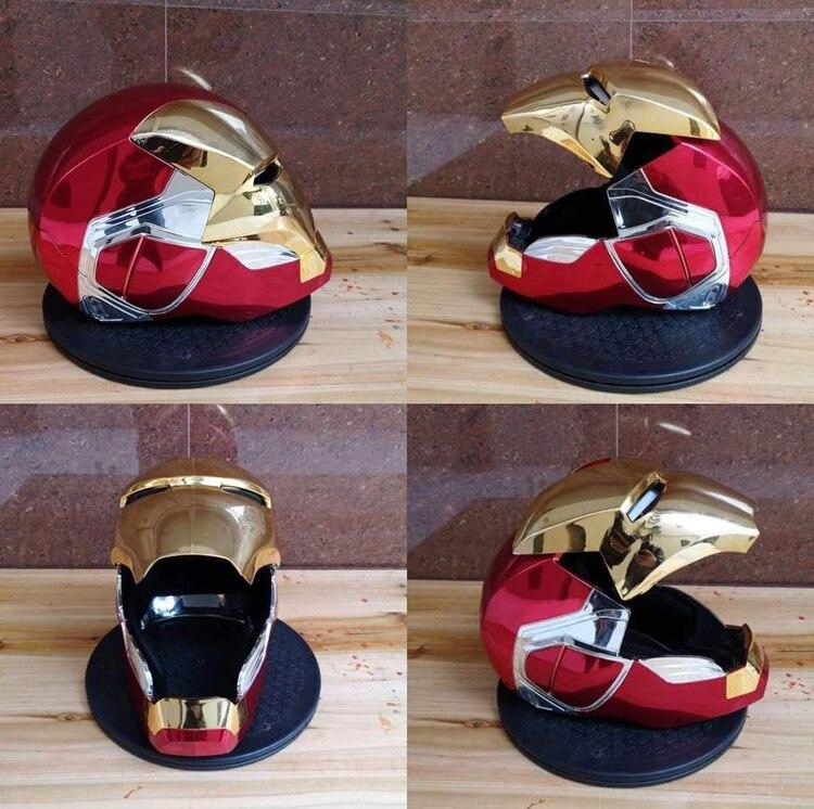Шлем Маска Железный Человек МК85 Светодиодный - h1ba62d95bd35471f80b1bc9617dd30aaw