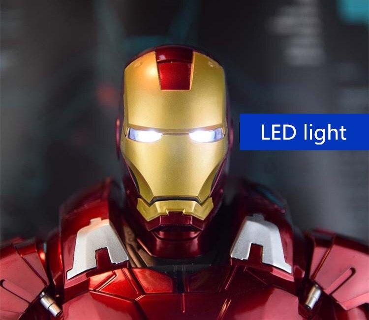 Бюст Железный Человек 3 МК42 МК43 Подсветка - h1d6a1acac8c94cc186d09433396334b99