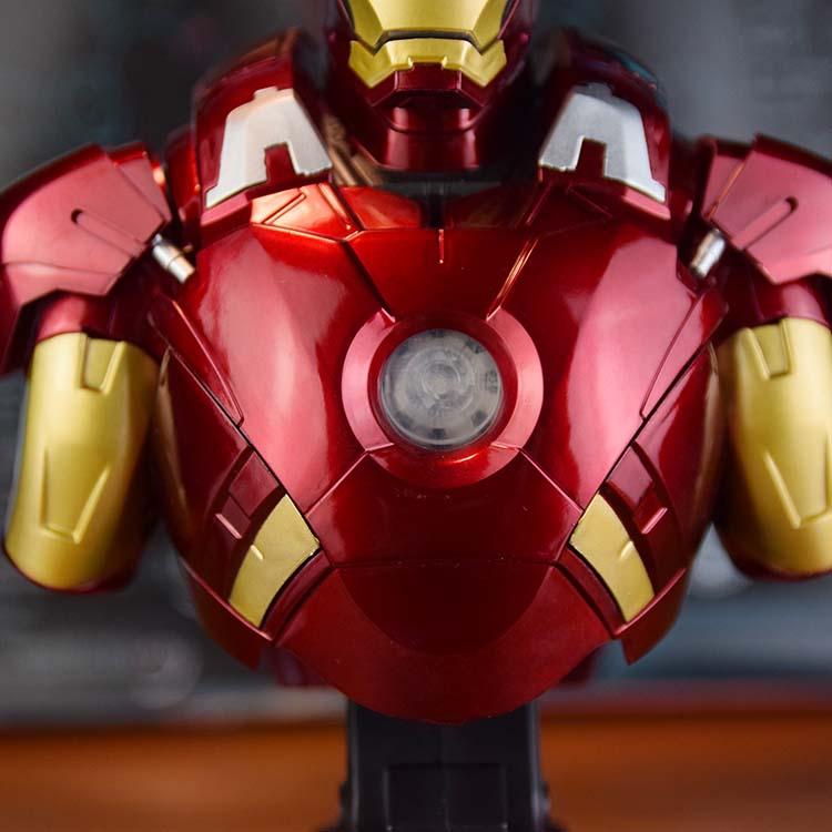 Бюст Железный Человек 3 МК42 МК43 Подсветка - h1eabd7eb7c28454d97515b122697d9fc9
