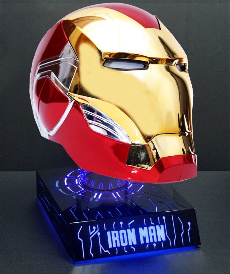 Шлем Маска Железный Человек МК85 Светодиодный - h1f4f92a161364916ba8f4c8c1c18d415q