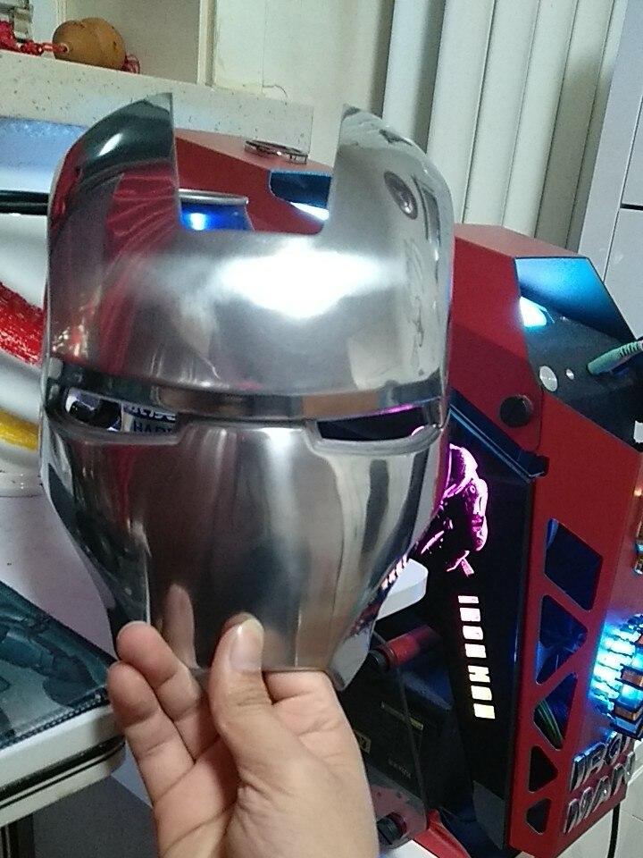 Маска Железный Человек МК2 Металлический Сплав - h2359cd2919644cbabeb502f547273c39c