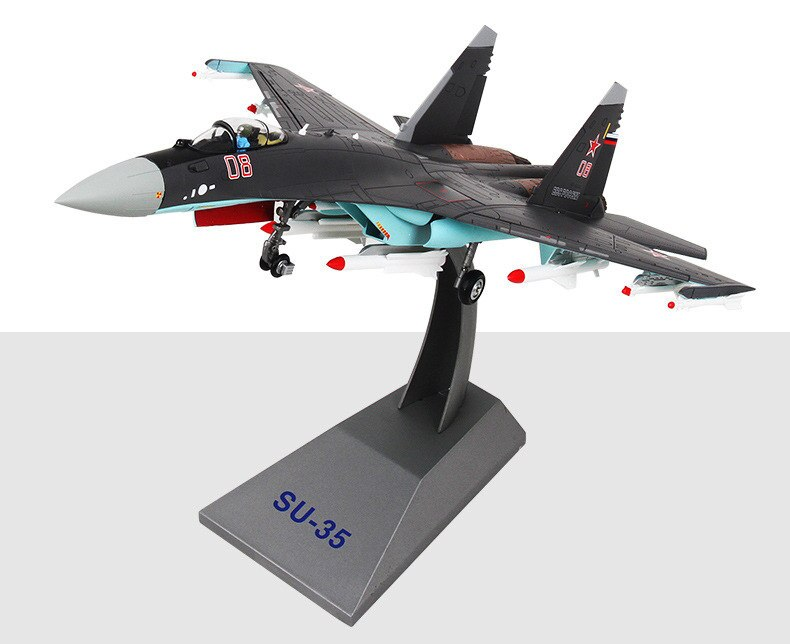 Фигурка Истребитель Россия Су-35 Подставка - h27fa8ef272cc4090b25933371f6e9e0cy