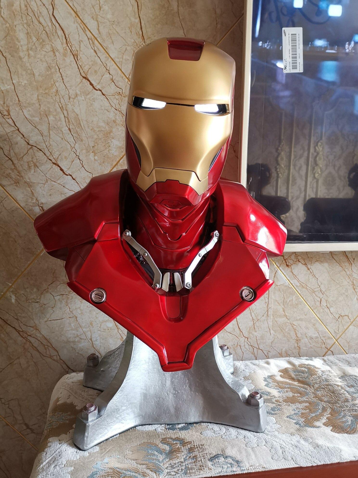 Бюст Железный Человек Марвел МК3 Светодиодный - h33e0bc337c224884b0fdbc87cf9d6a6em