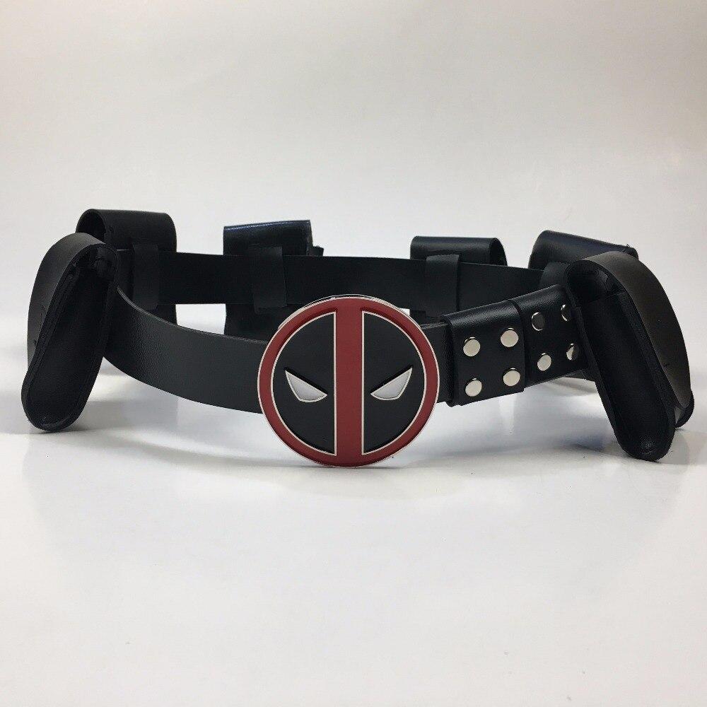Deadpool Belt Cosplay Superhero Deadpool Adjustable Belts Costume Accessories Halloween Props 1