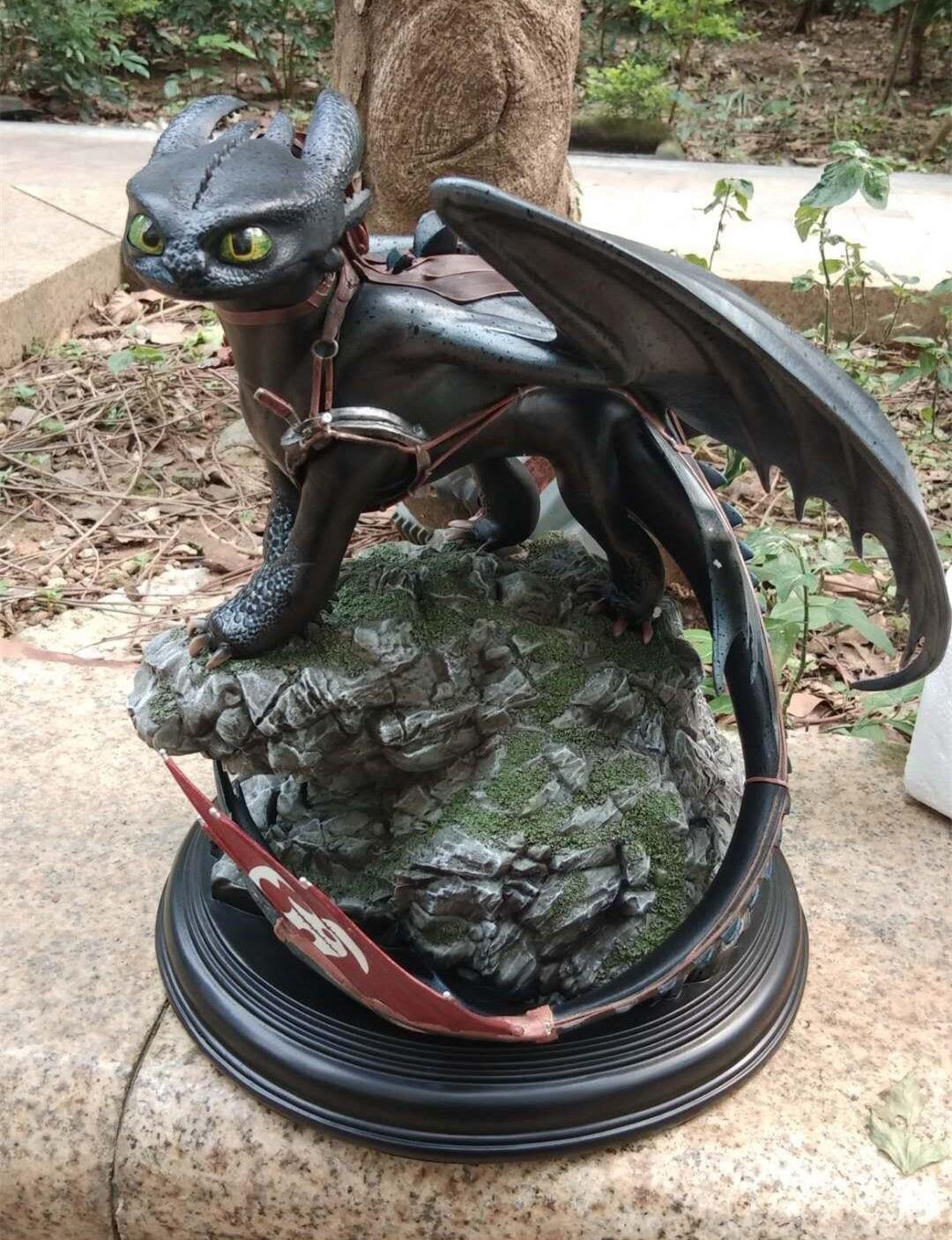 Статуэтка Дракон Беззубик 30 СМ Как приручить Дракона -