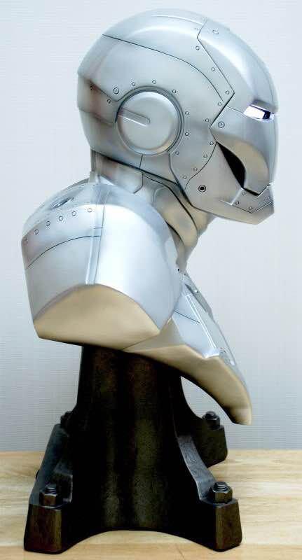Бюст Железный Человек МК3 Светящиеся Глаза - h521d1e354f5f4011bf270b4e69f5265fo