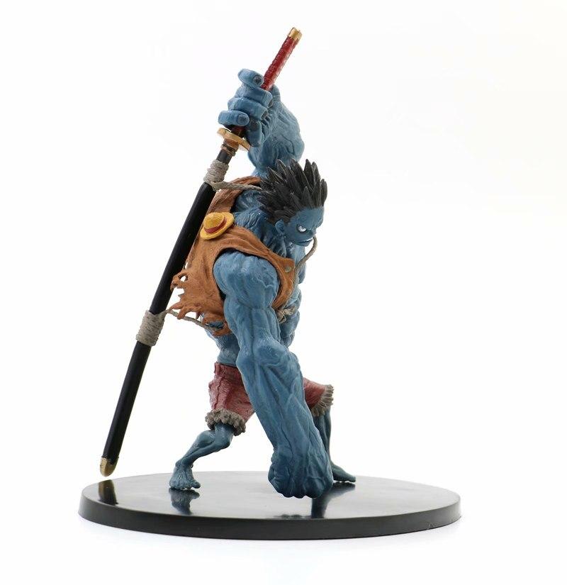 Статуэтка Манки Д.Луффи One Piece Синяя Форма - h5808134a2c8445799180dfb419995c56o