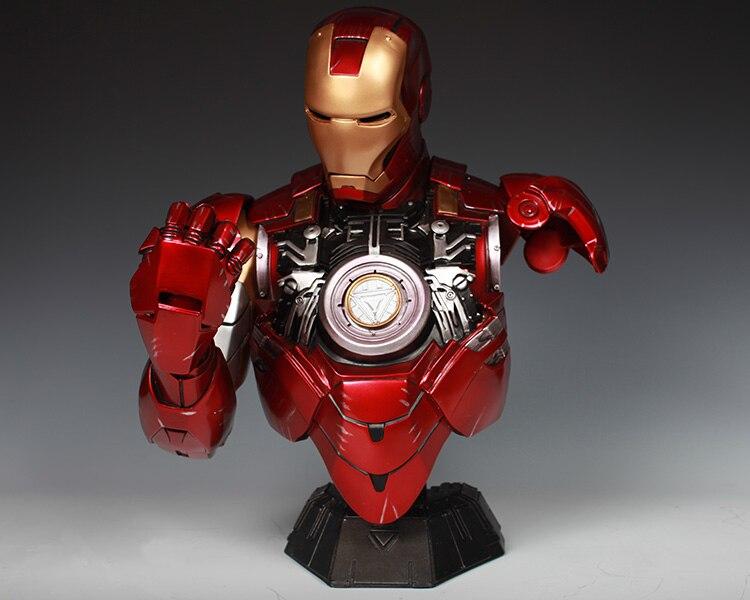 Бюст Железный Человек МК 6 Статуя Светодиодная Подсветка - h5b5fb76ac7da48cc805a46a8dc12385el