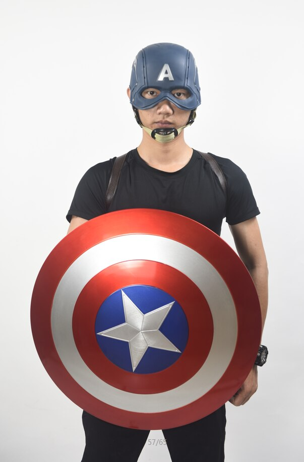 Щит Капитан Америка 1:1 Электромагнитный Ремень Держатель - h5e3589fbcdf746fb96421d3cf1fb47ecn