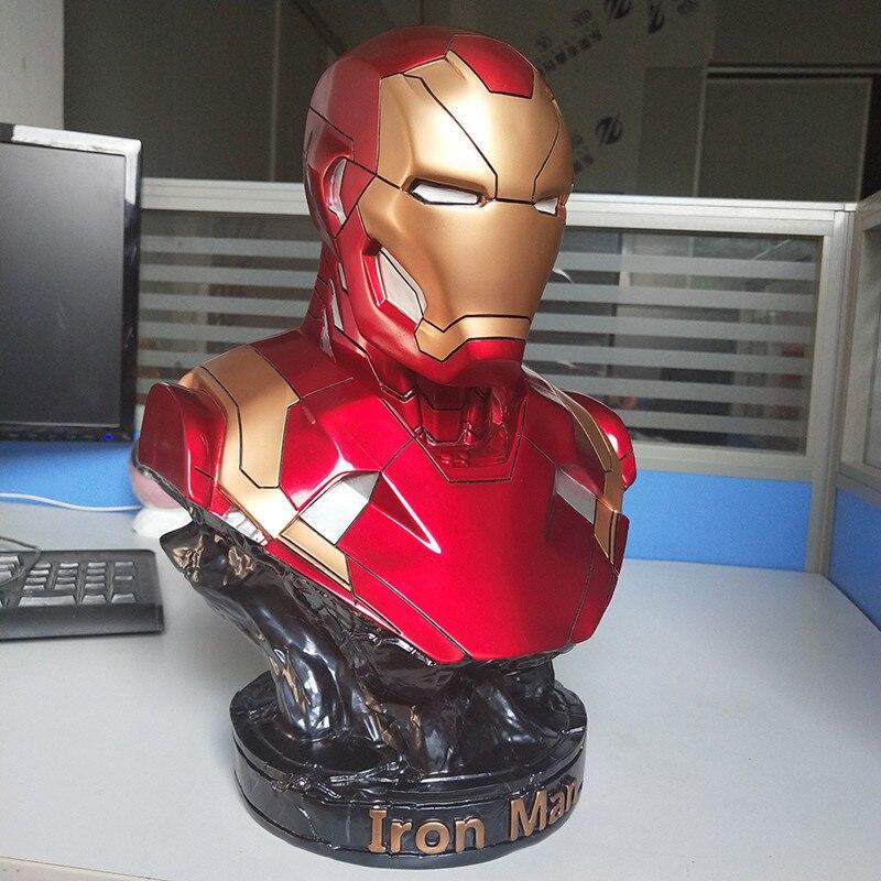Бюст Железный Человек МК46 35 СМ Яркий - h61cebed1e42f43d9803ba809b2abd526n