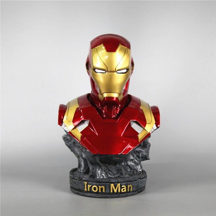 Бюст Железный Человек Статуя 18 СМ МК 46 - h63375b0dcc5941419c24134a0a0123ffy