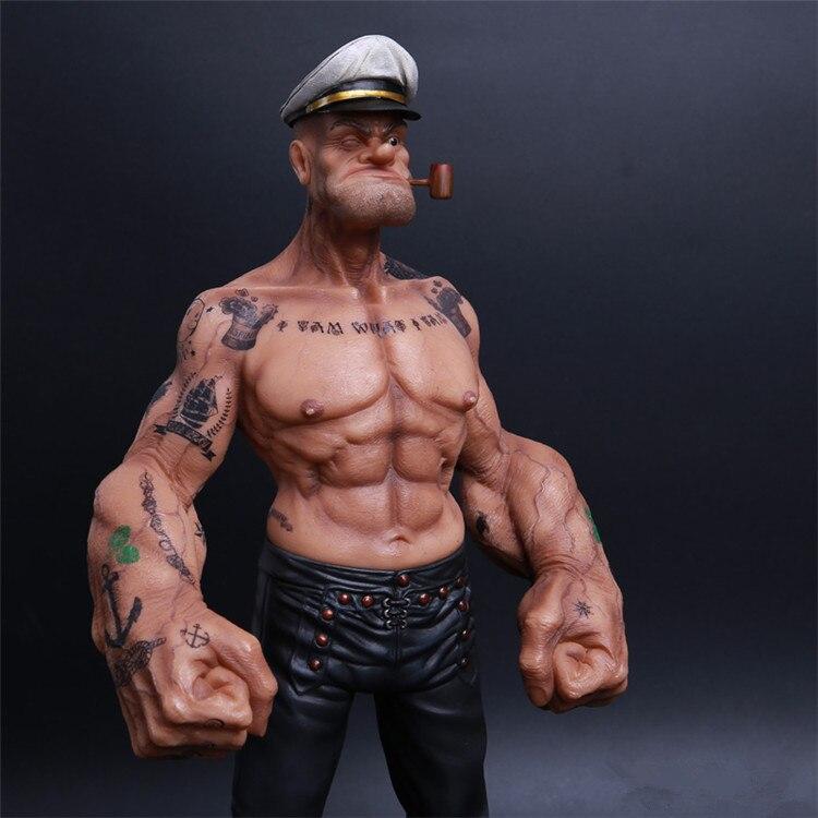 Фигурка Подарочная Моряк Накаченные Руки Татуировки -