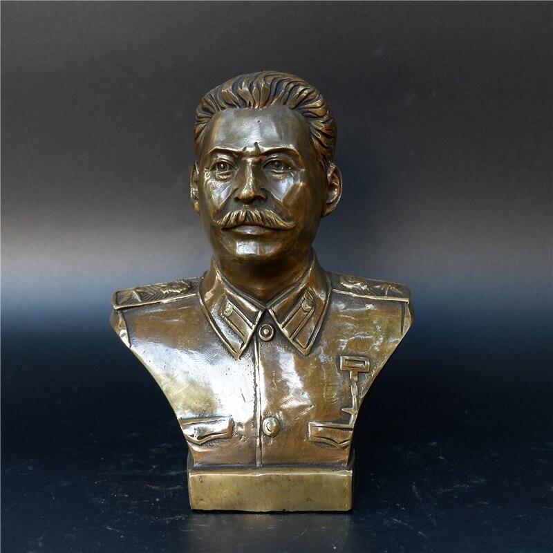 Статуэтка Бюст Сталин Вождь СССР Бронза - h7955e08504954de38f696f17749ed7e8y