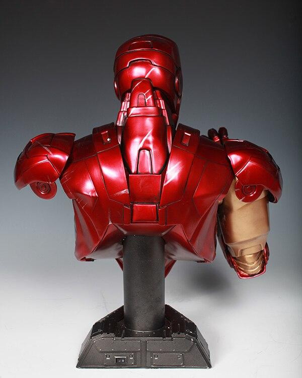 Бюст Железный Человек МК 6 Статуя Светодиодная Подсветка - h7c76b0df90c64aafa481c2030876dbe50