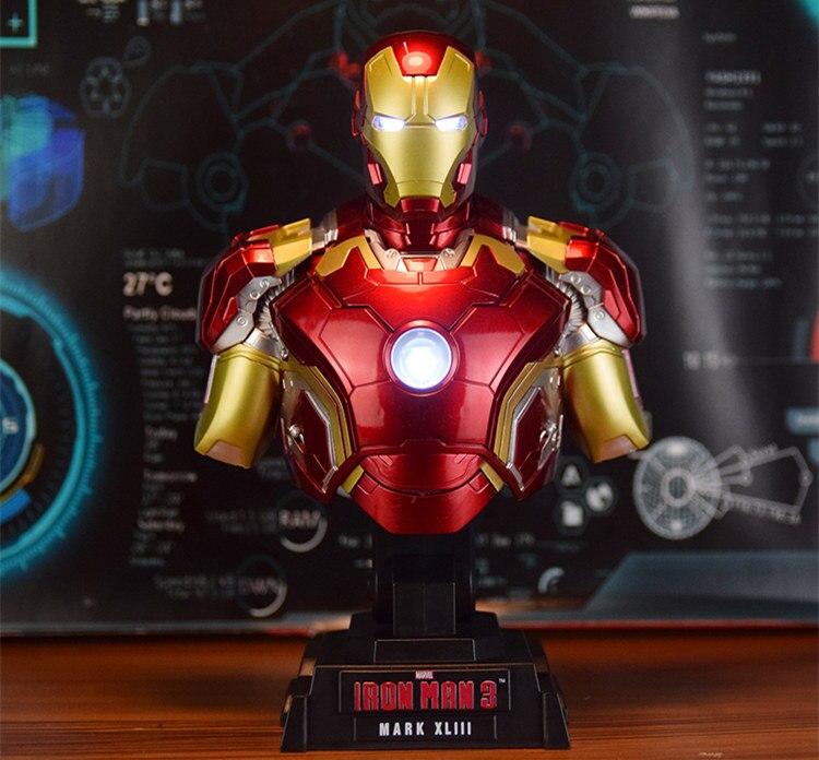 Бюст Железный Человек 3 МК42 МК43 Подсветка - h7e0cd205f9b1420bb66339b1637c511bl