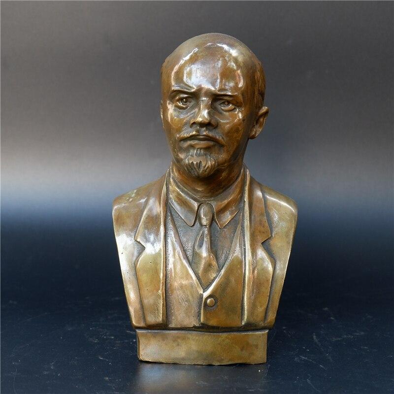 Бюст Ленин Вождь Советский Союз СССР Бронза - h7e9d4df6ab074181b9ff7a9d194f927d8