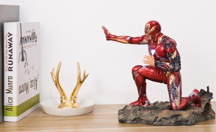 Статуэтка Железный Человек МК50 Финальная Битва - h80299a6fcd3046c49ac8edff545af606g