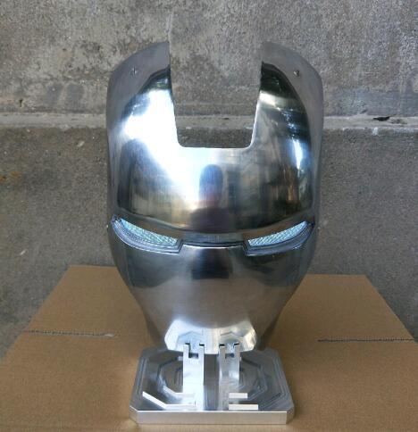 Маска Железный Человек МК2 Металлический Сплав -