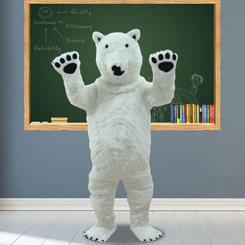 Костюм Ростовой Белый Медведь Полярный Медведь - h8613b9d6979441fdb302409b944705ffl
