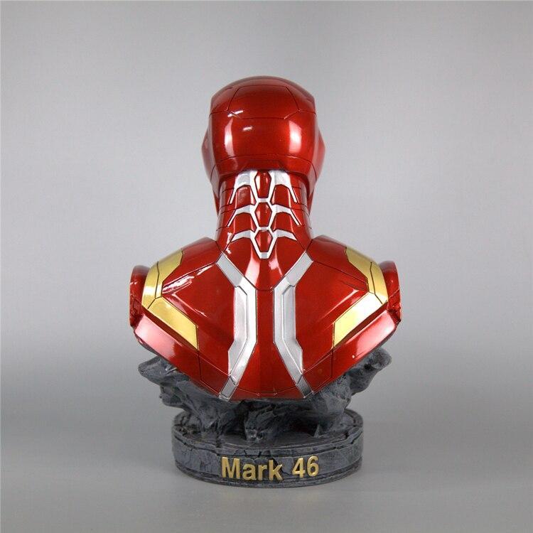 Бюст Железный Человек Статуя 18 СМ МК 46 - h86b8d02a0e164b12aaa48bb2ff5bfd50e