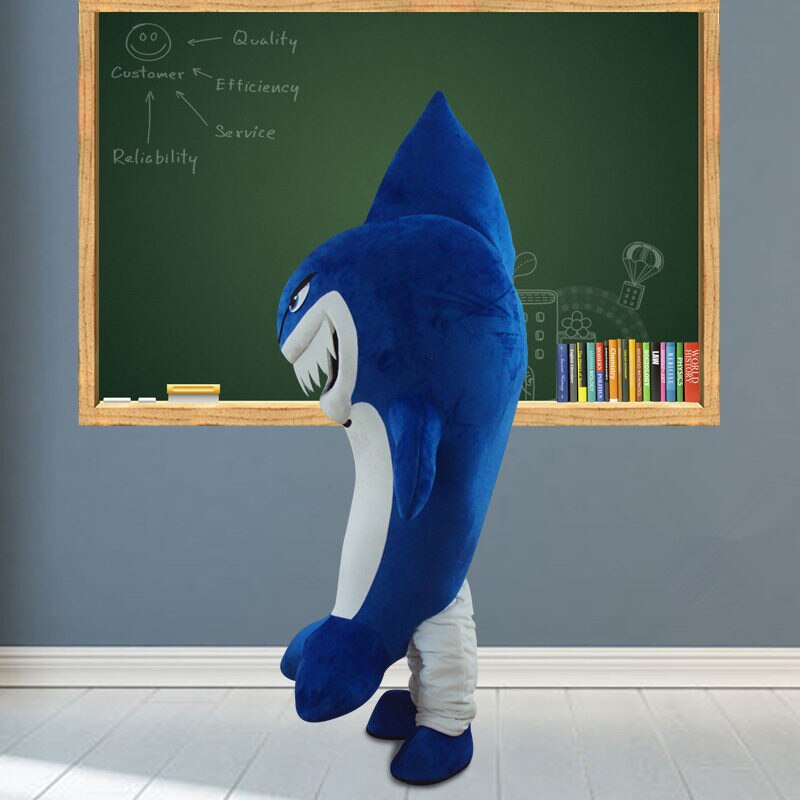 Костюм Синяя Акула Мультяшный Персонаж - h89b98908d1694fdcab5cf2c7fe11ca91t