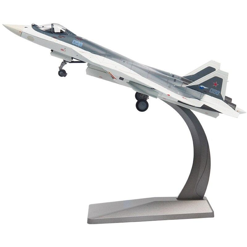 Фигурка Истребитель Россия Су-57 Подставка - h89d334ad7b484e8794a11824da3134faw