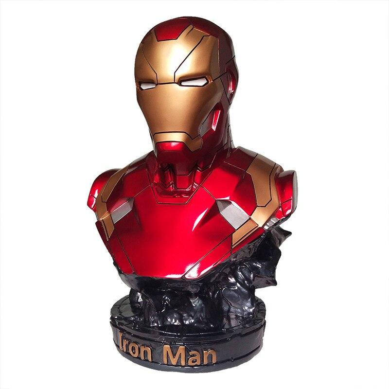 Бюст Железный Человек МК46 35 СМ Яркий -