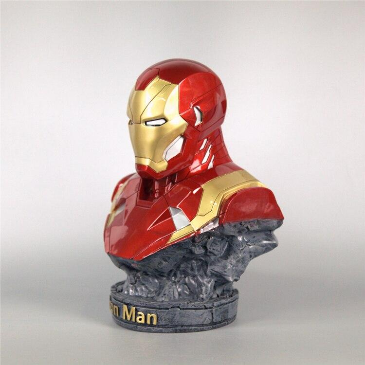 Бюст Железный Человек Статуя 18 СМ МК 46 - h8e74f2f020de452caf4168872190ca92b
