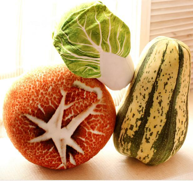 Подушка Мягкая Тематика Овощи Цветная Капуста Гриб - h8ed8b92435e74ee9bd686485958d08adu