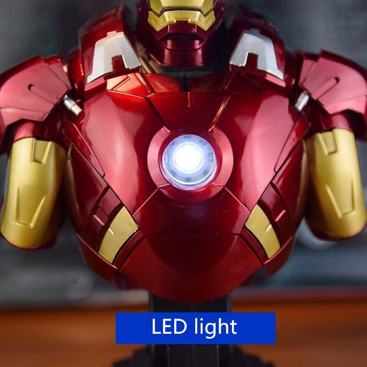 Бюст Железный Человек 3 МК42 МК43 Подсветка - h8ef7c4cf5d5a494b9a30731a6d4867c5u
