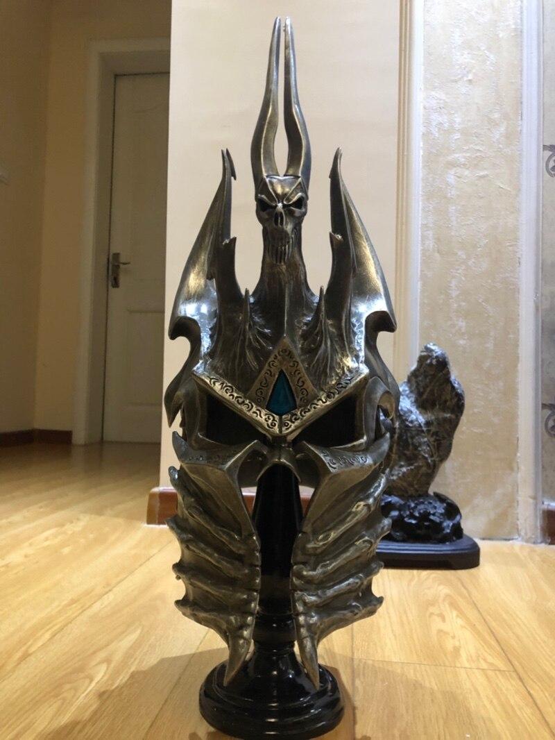 Шлем Король Лич 1:1 Подставка Коллекционный - h92afce179a864934915aba2370d8eb2ei