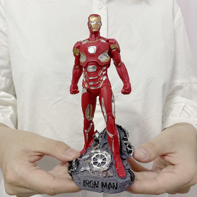 Статуэтка Железный Человек Камень Шестеренки 17 СМ - h93581d4012084c4aa2df966edb25f83a8