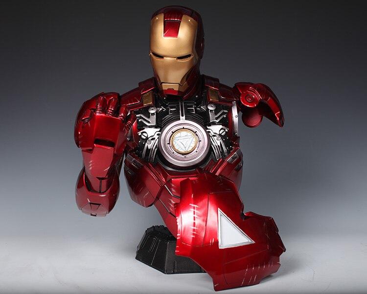 Бюст Железный Человек МК 6 Статуя Светодиодная Подсветка - ha0cd2f360fbc4878bd7d084307f78b99a