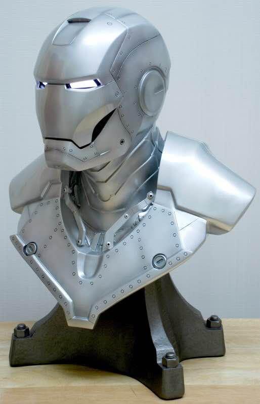 Бюст Железный Человек МК3 Светящиеся Глаза - haac03c5bc73244a3817adc13ec60420cu