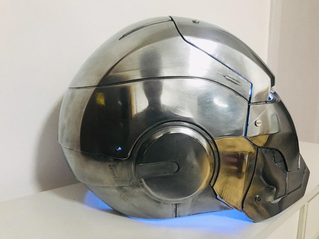 Шлем Железный Человек МК 3 Металл Сплав Подсветка - hab2fb6ce10754ae9a633e6f3630281c2s
