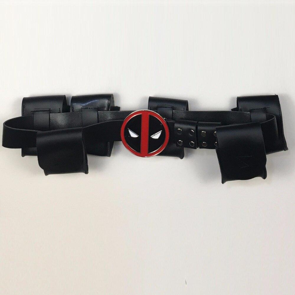 Deadpool Belt Cosplay Superhero Deadpool Adjustable Belts Costume Accessories Halloween Props 2