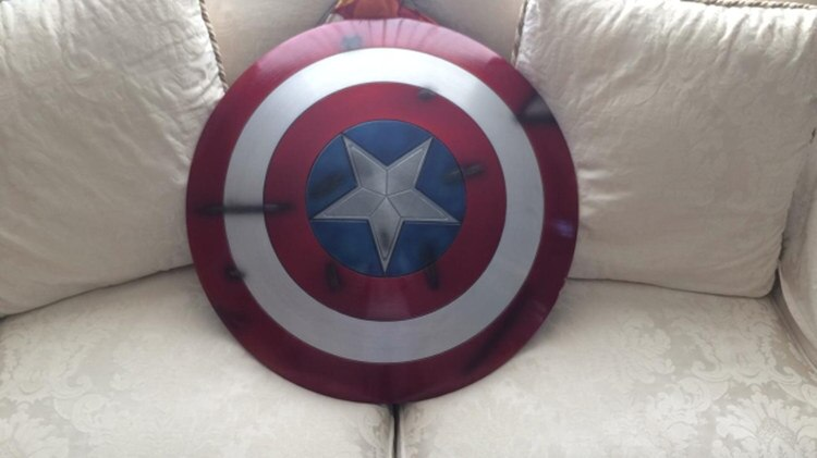 Щит Капитан Америка Повреждённый Металл 60 СМ - hb449b580bc6a404d85de1fb06c127993a