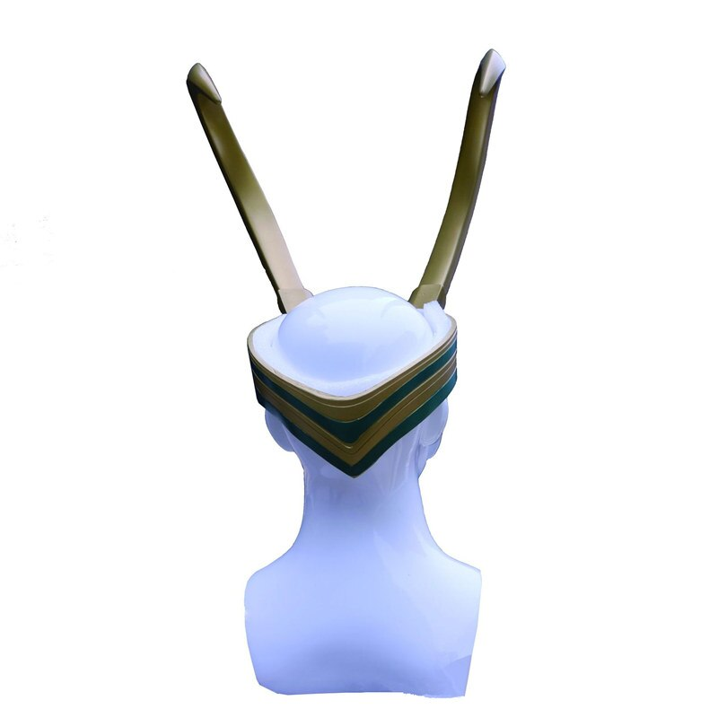 Косплэй Шлем 1:1 Рога Локи Вселенная Марвел - hbd8f687d813b412ba664ffd651a556f8u