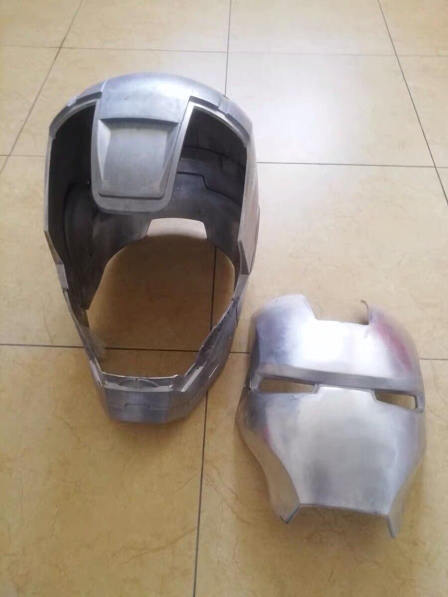 Шлем Железный Человек МК 3 Металл Сплав Подсветка - hc1709b7a743c47ae96b5a18347db8a36y