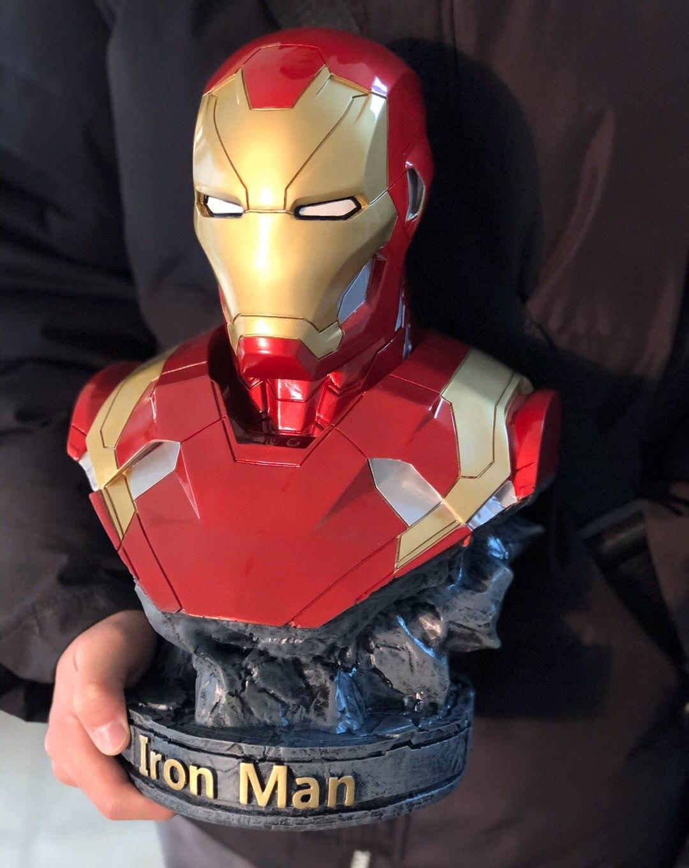Бюст Железный Человек Статуя 18 СМ МК 46 - hc928c9473ad54a7c96a5e6fe932276e7z