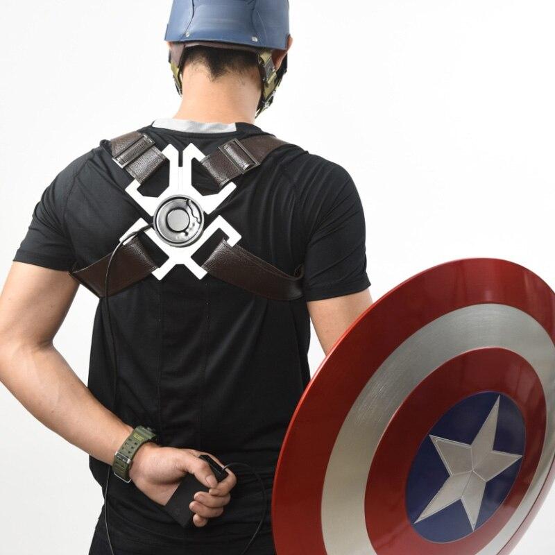Щит Капитан Америка 1:1 Электромагнитный Ремень Держатель - hc9481015994c45bf84b84e5e3720afa5n