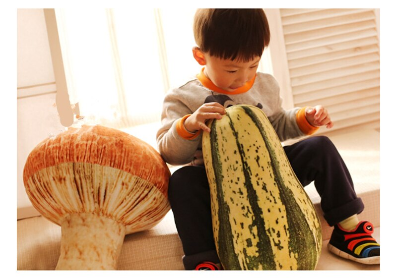Подушка Мягкая Тематика Овощи Цветная Капуста Гриб - hcbb5bd01aca44f688b64fd596847cf8bc