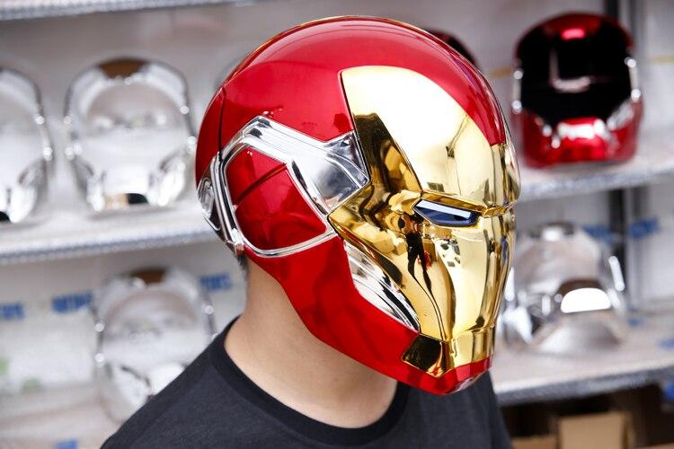 Шлем Маска Железный Человек МК85 Светодиодный - hcc79fcf6716e4ca485ad72e8c386afccn