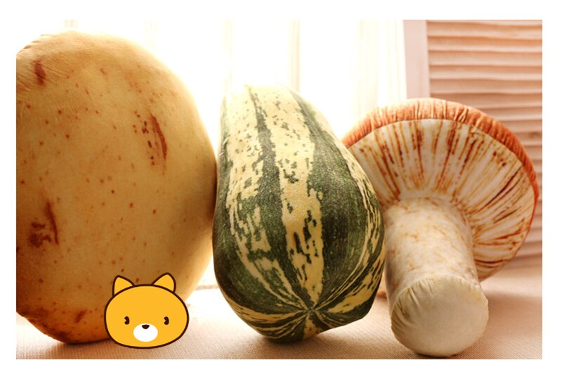 Подушка Мягкая Тематика Овощи Цветная Капуста Гриб - hcd2f5a7d45d840cebbb9dc2692f537717