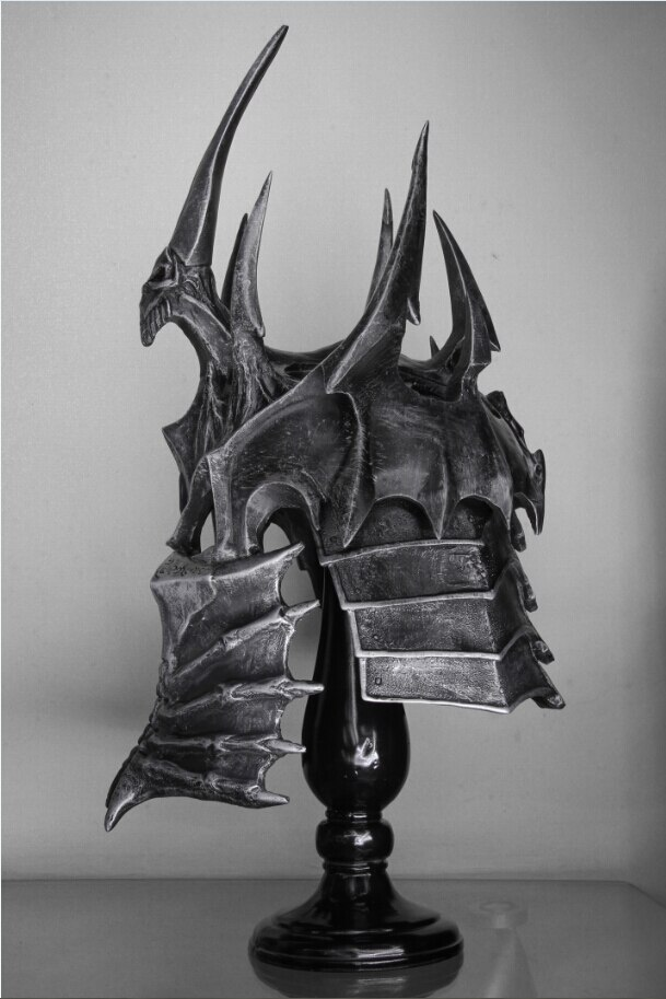 Шлем Король Лич 1:1 Подставка Коллекционный - hceaed556eab54ecbba0f0b6e62629a80z