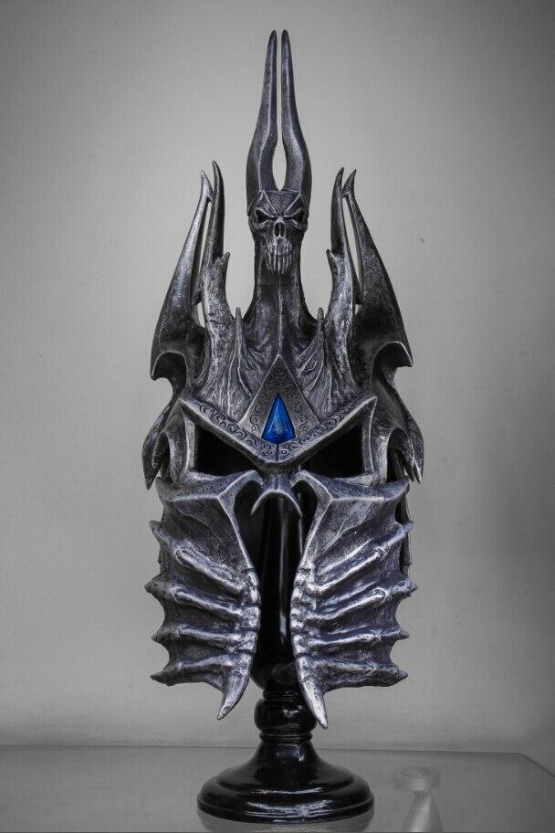 Шлем Король Лич 1:1 Подставка Коллекционный - hd65d8f3247824507b612a5b5de70f7cea
