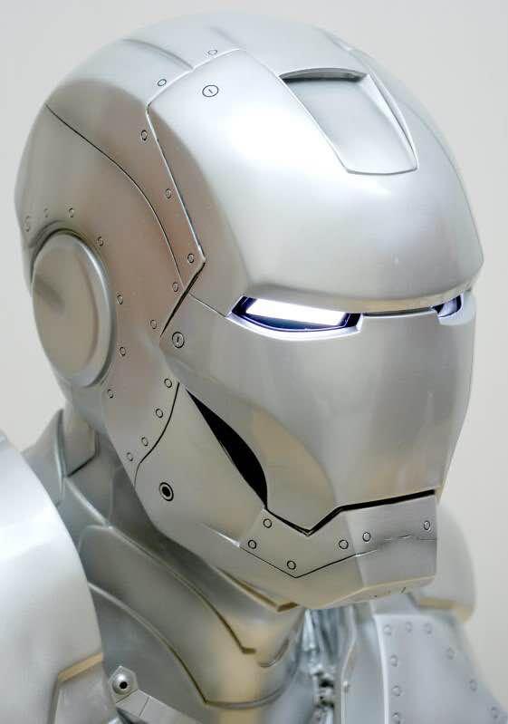 Бюст Железный Человек МК3 Светящиеся Глаза - hdb74f51d97944da994d9ec8bd6cc1166l